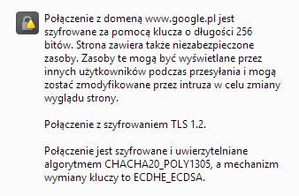 certyfikat https google
